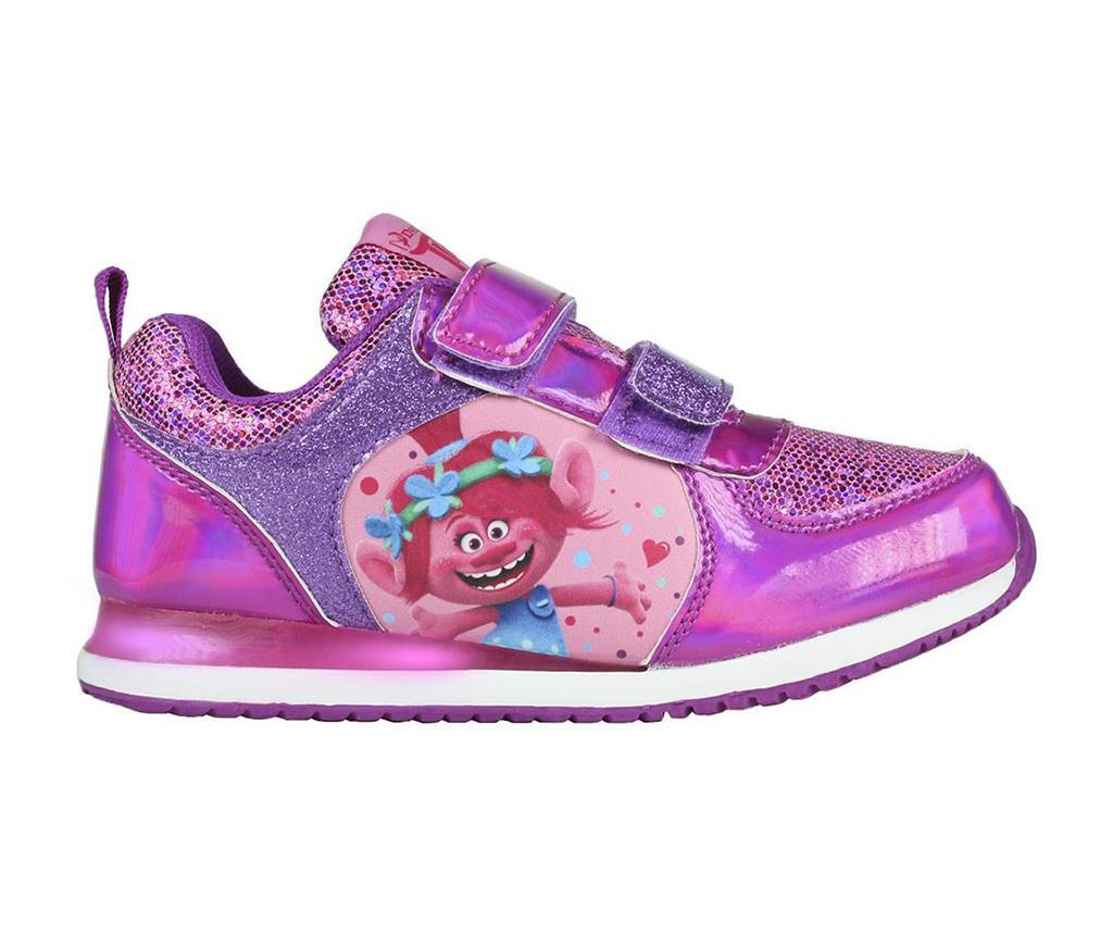 Otroški športni čevlji Trolls Poppy Lights 30