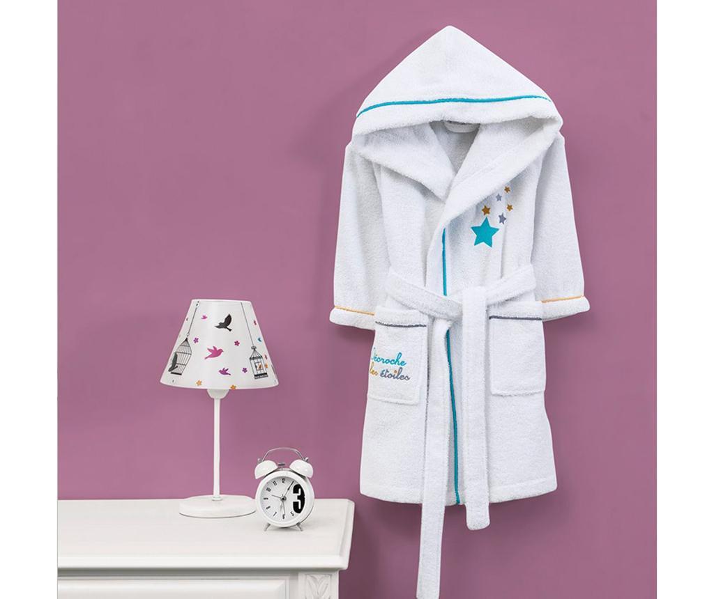 Dječji kupaonski ogrtač Marie Claire Hooded Star White 7-8 god.