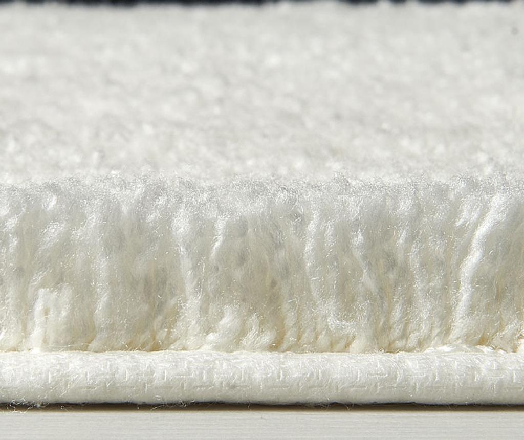 Covoras de baie Miami White 57x100 cm