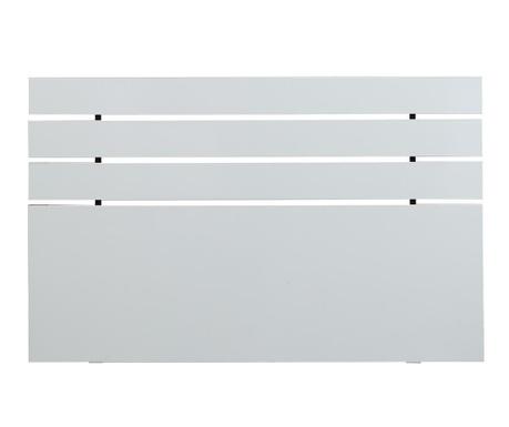 Tablie de pat Fuga Shiny White 100x140 cm