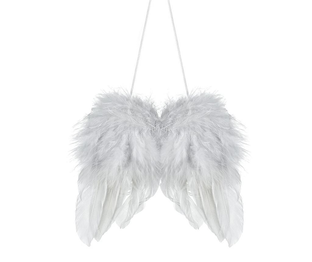 Viseći ukras White Feather Wings