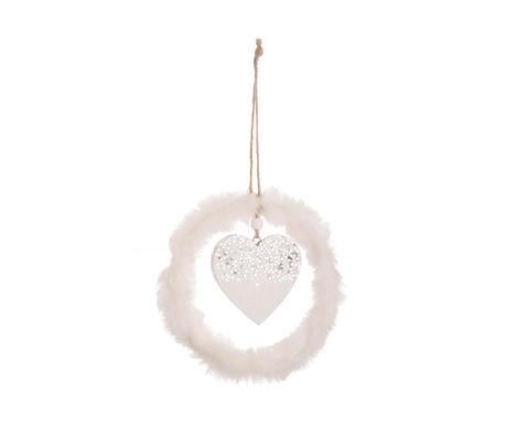 Decoratiune suspendabila Doroty Silver Heart