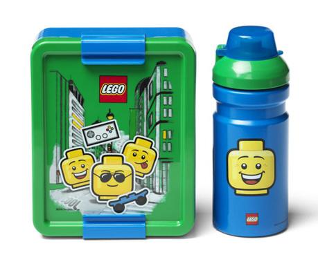 Set kutija za užinu i sportska boca Blue Boy