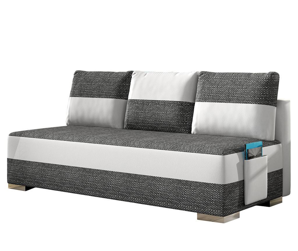 Kauč na razvlačenje Atila White Grey