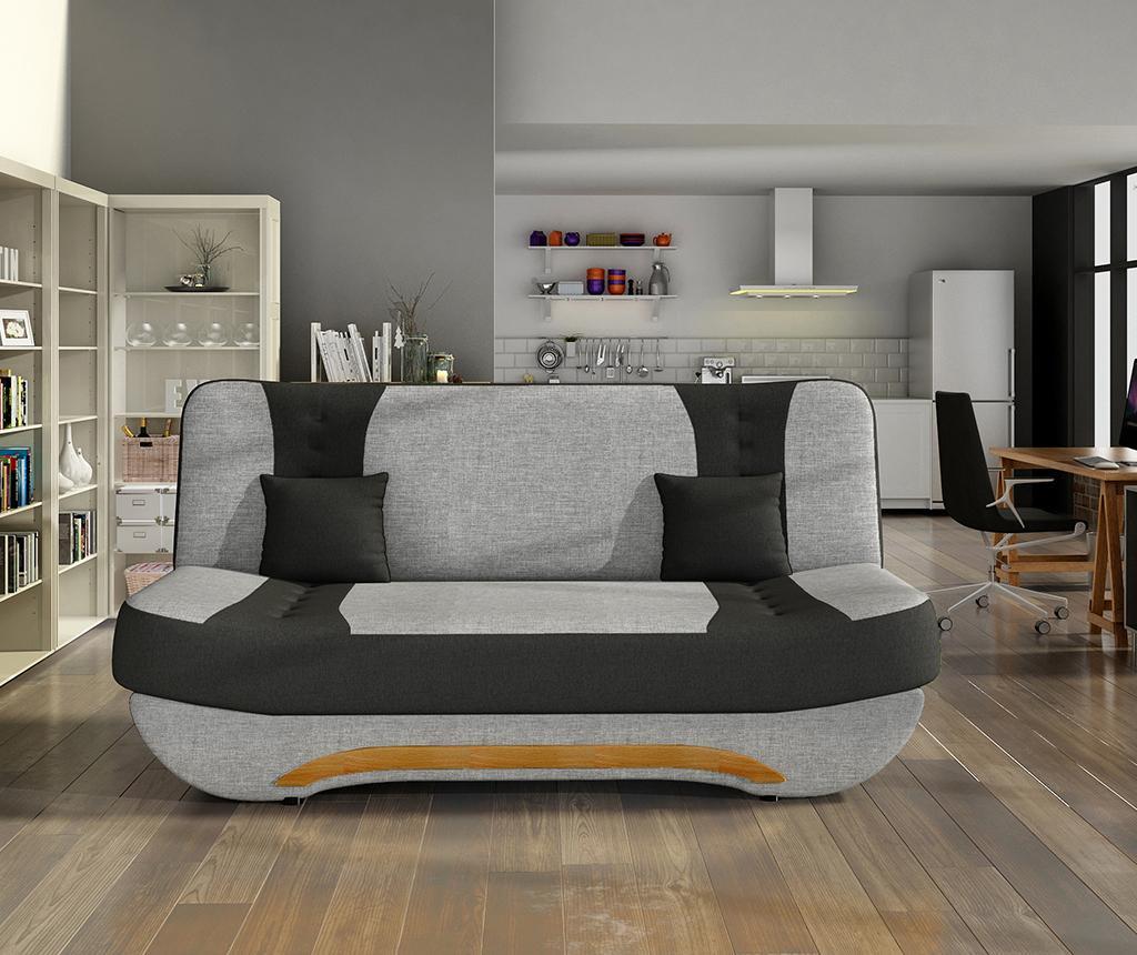 Sofa na razvlačenje Ewa White Grey