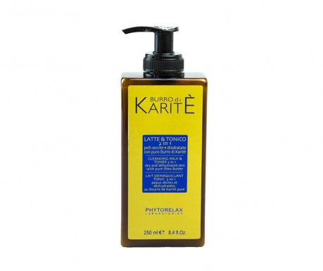 Lapte demachiant si lotiune tonica 2in1 Shea Butter 250 ml