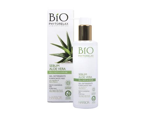 Почистващ гел за мазна кожа Aloe Vera Sebum 200 мл