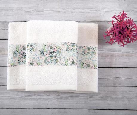 Sada 3 ručníků Jade White 30x50 cm