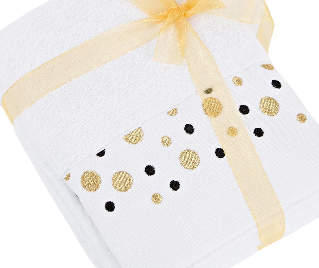 Sada 2 ručníků Luna White 50x90 cm