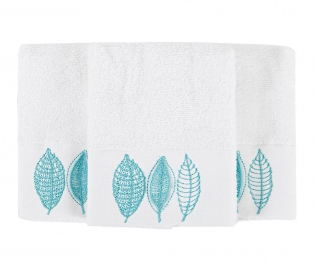 Sada 3 ručníků Empire White 30x50 cm