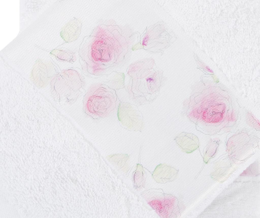 Set 2 prosoape de baie Almada Roses 50x90 cm