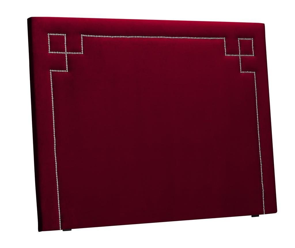 Tablie de pat Nicholas Red Silver Pins 120x140 cm