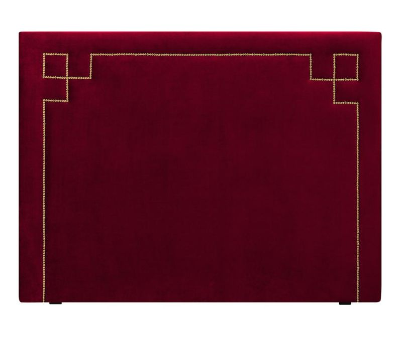 Tablie de pat Nicholas Red Gold Pins 120x180 cm