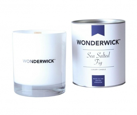 Dišeča sveča Wonderwick  Sea Salted Fig Blanc