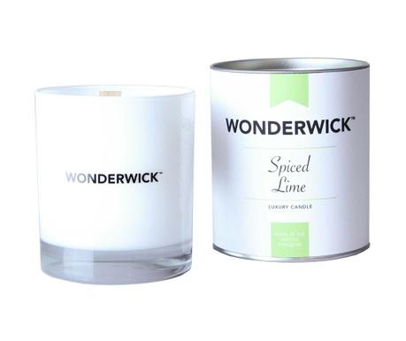 Dišeča sveča Wonderwick  Spiced Lime Blanc
