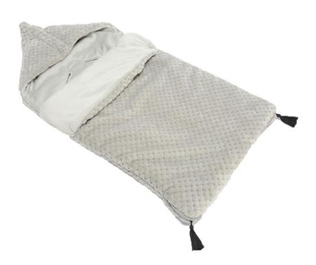 Otroška spalna vreča Pompons Grey 0-12 mesecev
