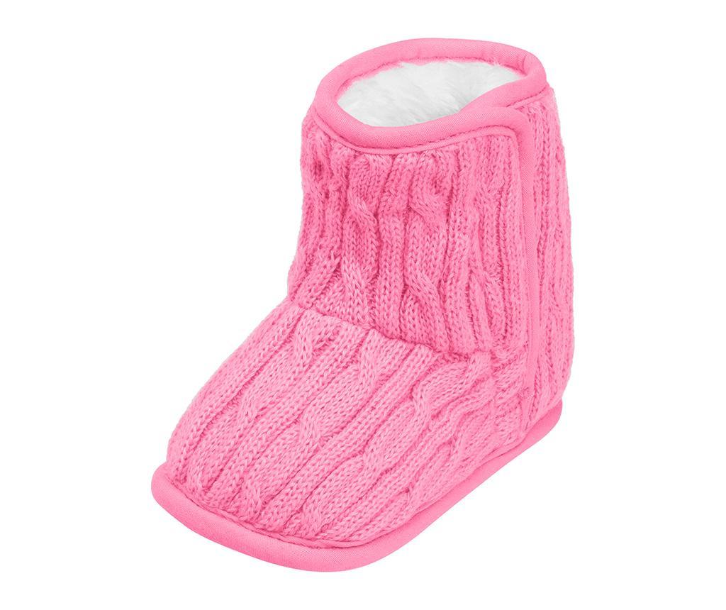 Dětské domácí capáčky Chaldene Light Pink 20-21