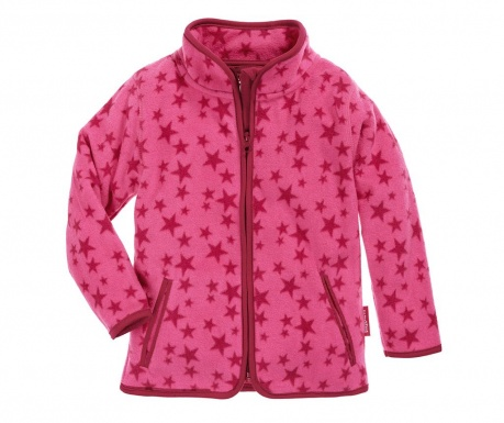 Otroška jakna Star Pink 10 mesecev