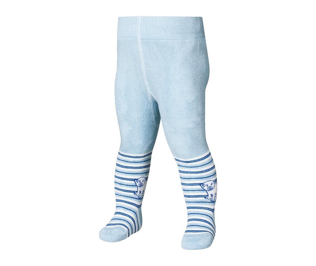 Dětské punčocháče Bear Blue 12-18 měs.
