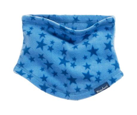 Κυκλικό παιδικό φουλάρι Stars Blue