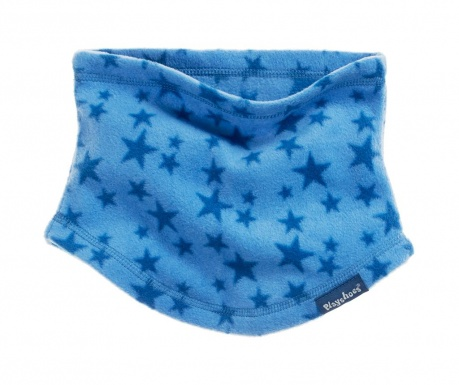 Otroški cevast zimski šal Stars Blue
