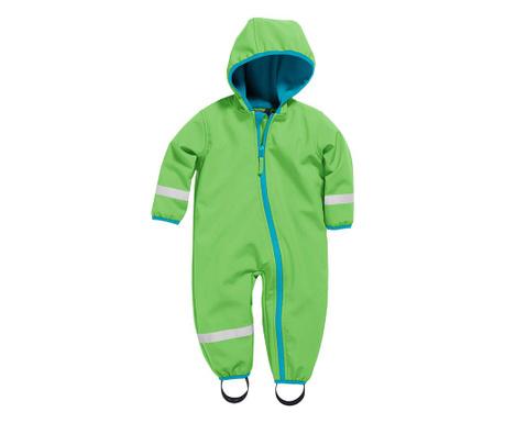 Otroški vodoodporni kombinezon Warmshell Green 8 mesecev