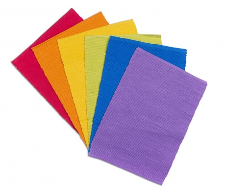 Set 6 individualuri Rainbow 30x43 cm
