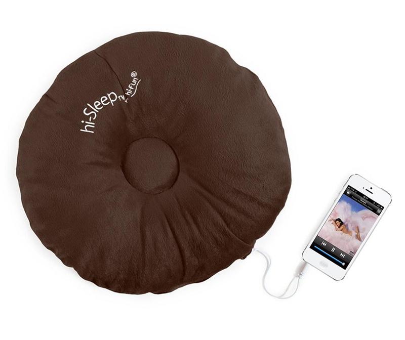 Jastuk sa integriranim zvučnikom hi-Sleep Brown