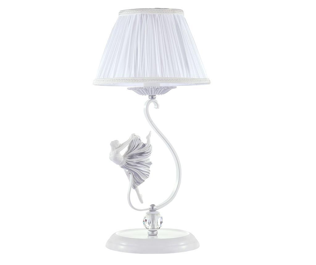 Stolna svjetiljka Elina Zoe Silver