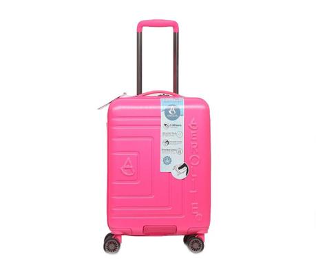 Kovček na kolesih Matrix Pink 35 L