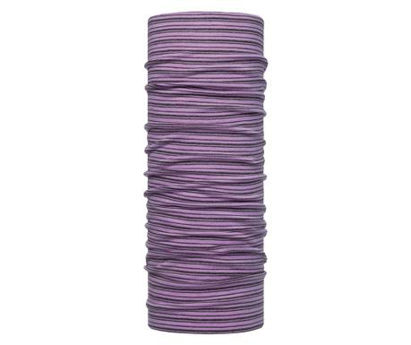Kruhová šála unisex Buff Beebe Purple 24.5x53 cm