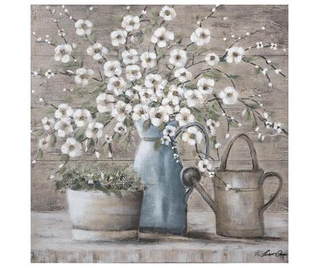Slika Flowers 100x100 cm