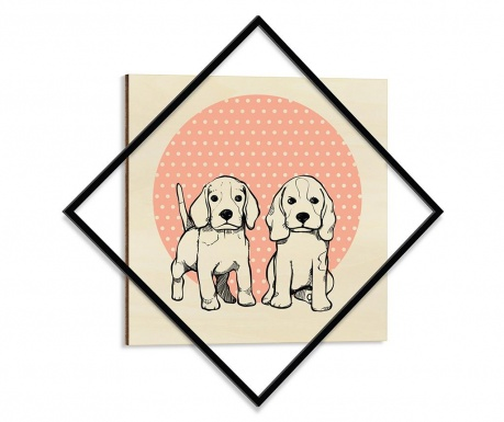 Obraz Family Ties 64x64 cm