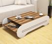 Konferenční stolek Cool Walnut White