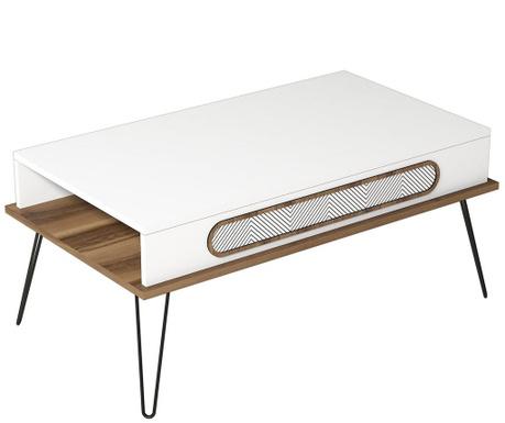 Konferenční stolek Ekol White
