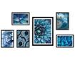 Set 6 slik Wild Blue