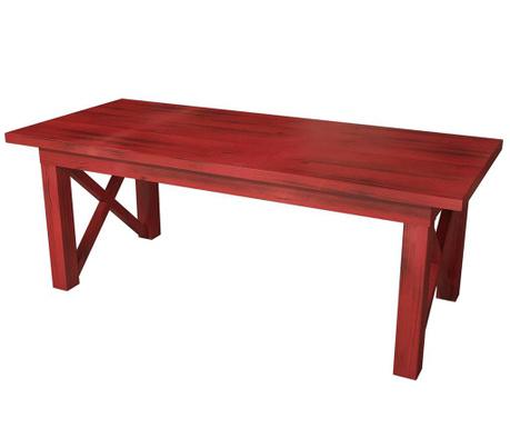 Konferenční stolek Ricco Red