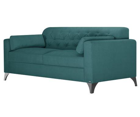 Třímístná pohovka Vanity Turquoise