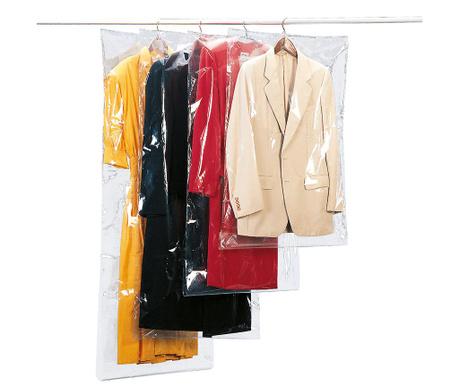 Zestaw 3 pokrowców na ubrania Enoch 65x100 cm