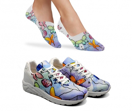 Stacie Női sportcipő és zokni