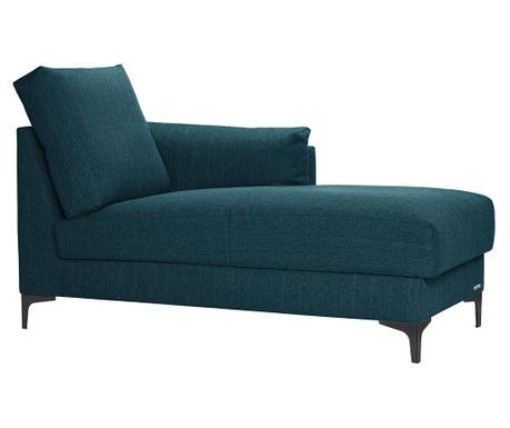 Szezlong prawostronny Desire Turquoise