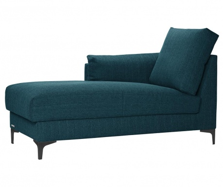 Szezlong lewostronny Desire Turquoise
