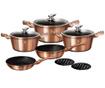 10-dijelni set posuda za kuhanje Metallic Line Rose Gold Edition