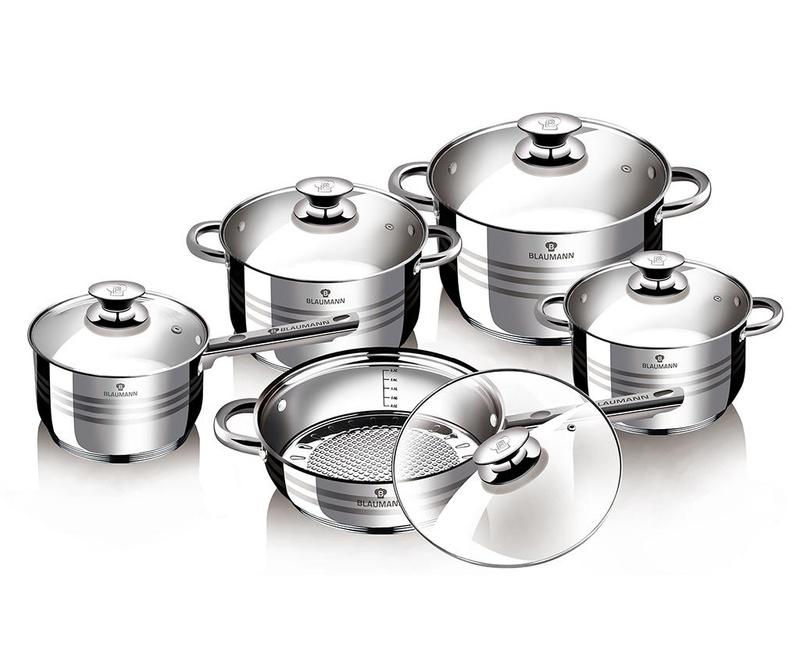10-dijelni set posuda za kuhanje Gourmet Line