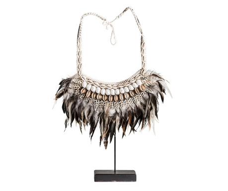 Dekorácia Collar Black