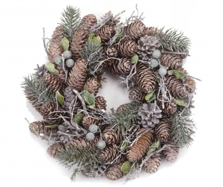 Декорация Pinecone Wreath