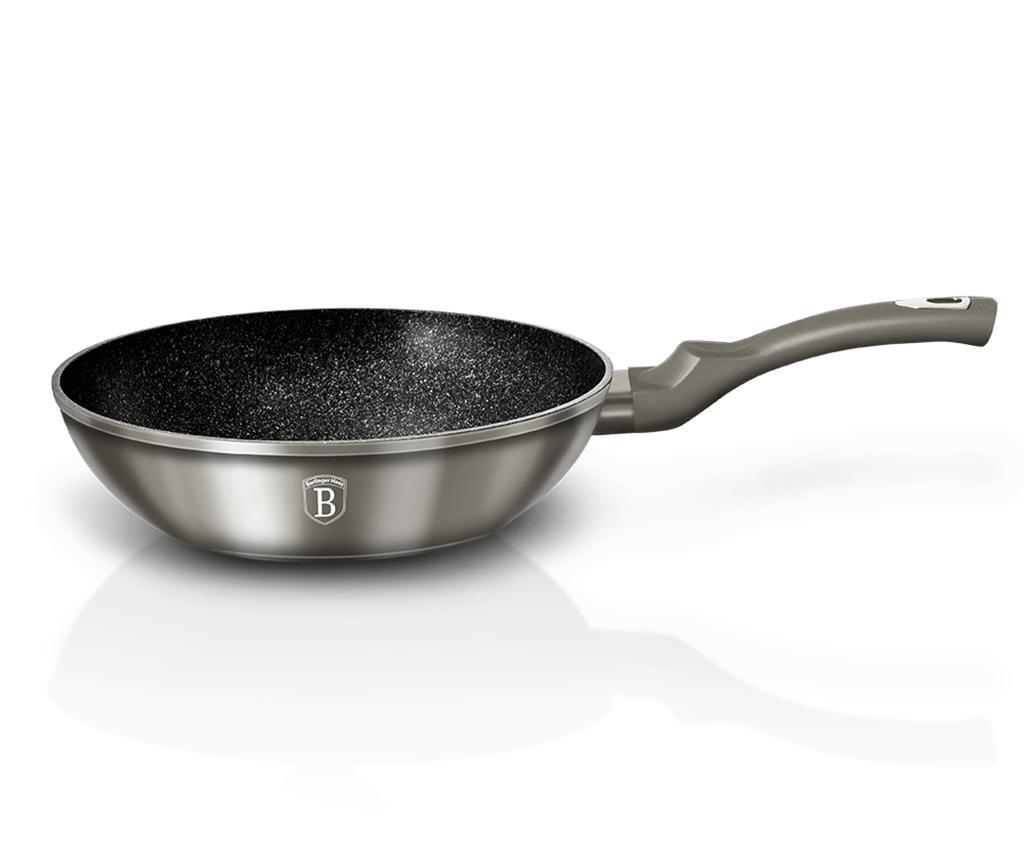 Vok ponev Metallic Carbon 28 cm