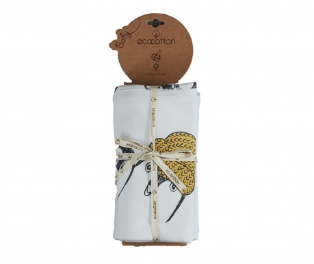 Patura Pingu White 100x100 cm