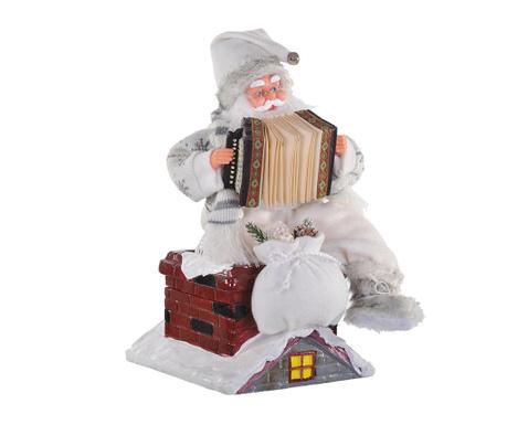 Decoratiune muzicala Santa on the Roof
