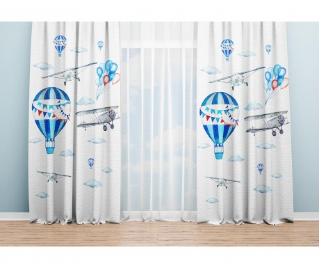 Set 2 draperii Sally 140x240 cm